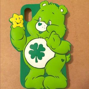 Care Bear iPhone X case